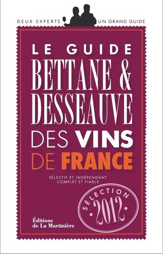 Bettane et Desseauve 2012