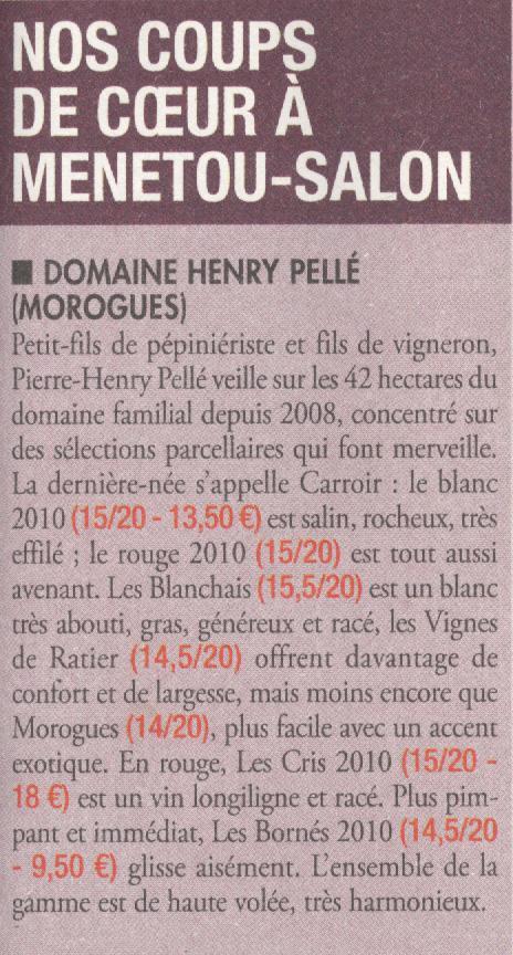 Revue du Vin de France / décembre 2o11