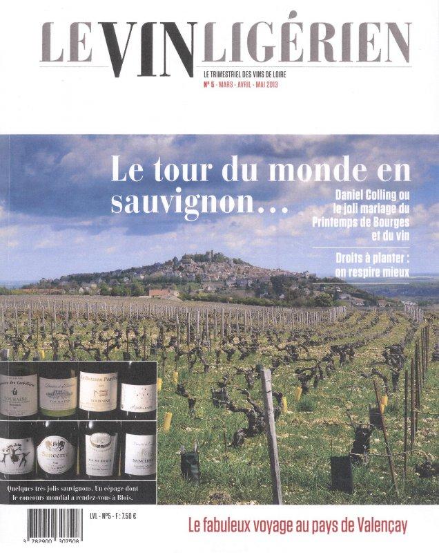 Le vin ligérien - mars 2013