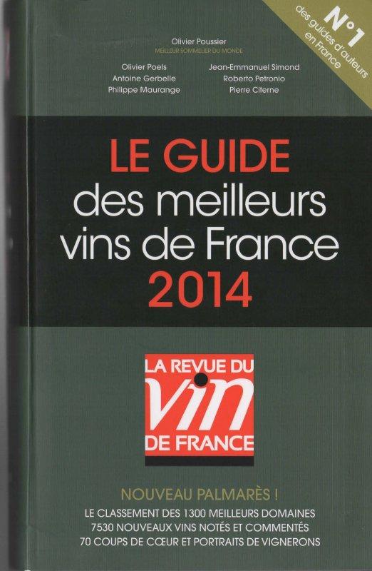 Le Guide de la RVF 2014