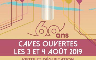 Caves ouvertes et 60 ans de l'appellation Menetou-Salon  les 3 & 4 août 2019
